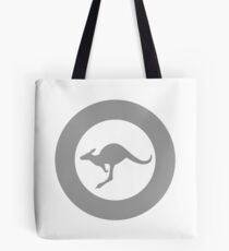 Low Visibility Roundel of the Australian Air Force Tote Bag