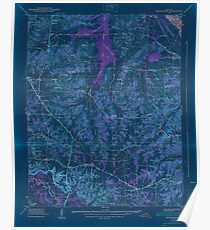 USGS TOPO Map Kentucky KY Briensburg 803361 1938 24000 Inverted Poster