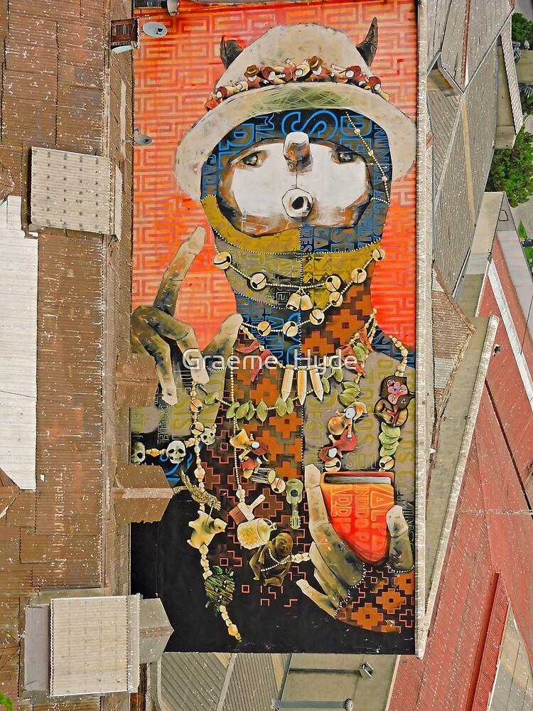 Mural - Valparaiso by Graeme  Hyde