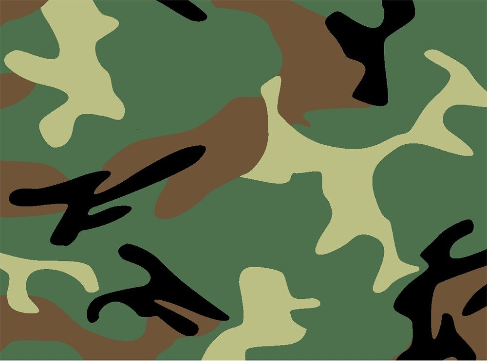 Woodland Camouflage  by Martstore