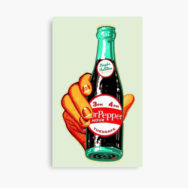 Baylor Dr. Pepper Hour. Canvas Print