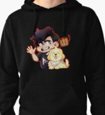 Mark and Chica Pullover Hoodie