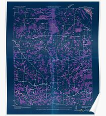 USGS TOPO Map Kentucky KY Briensburg 803362 1936 24000 Inverted Poster