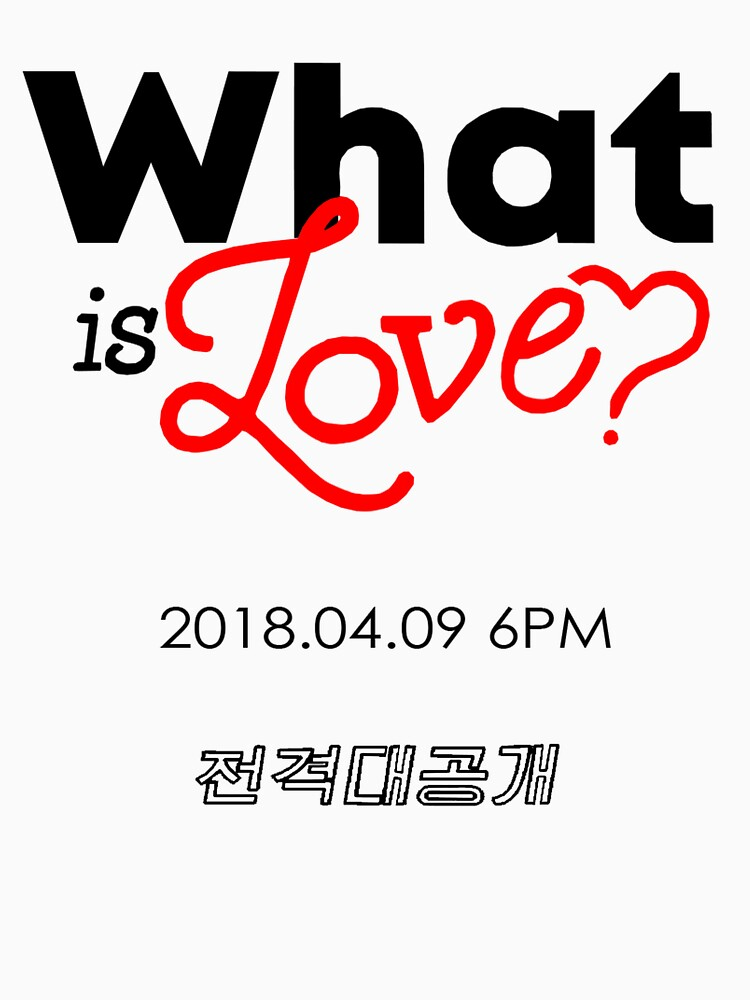 """Twice """"What is Love?"""" Promotion Shirt by nameisroger"""