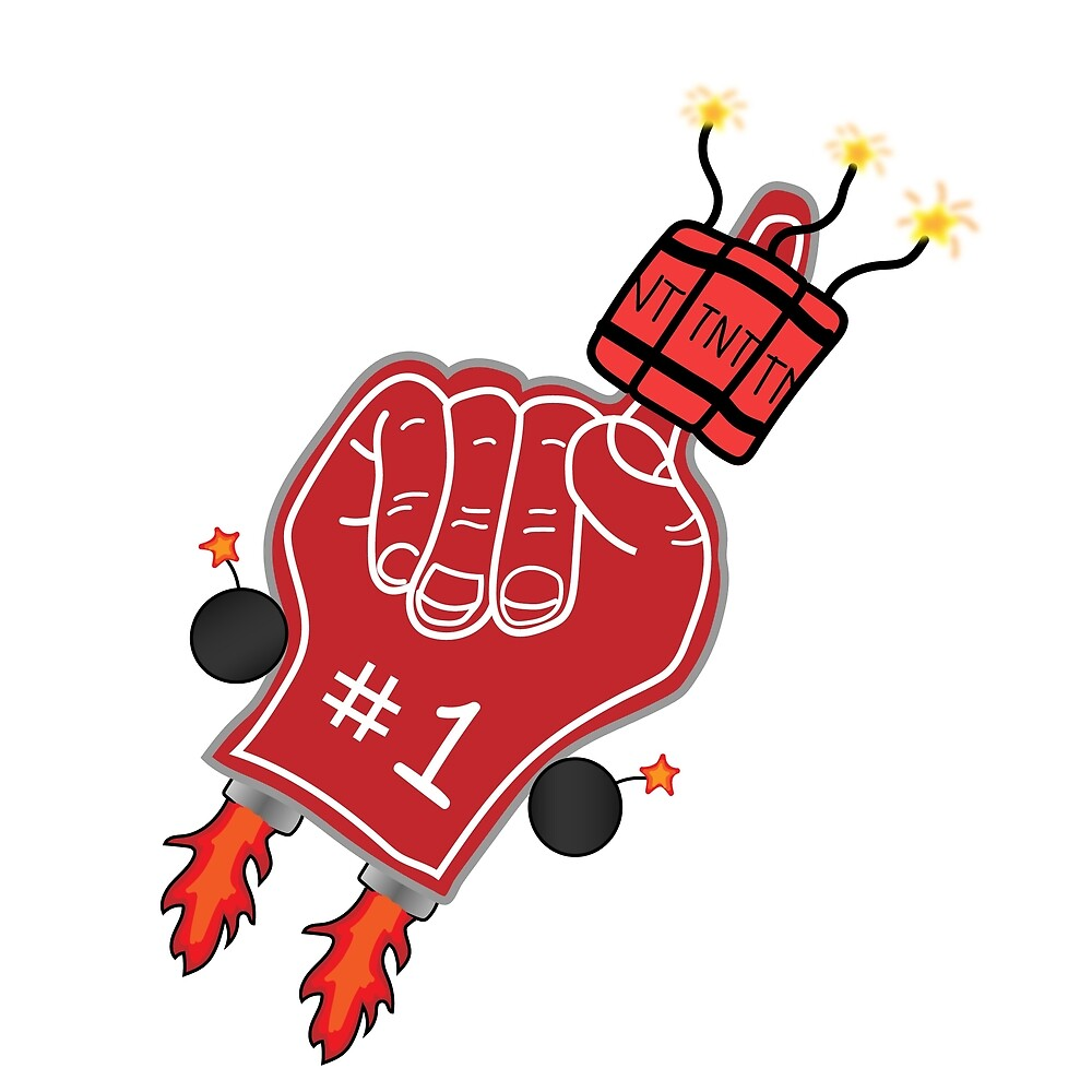 Explosiver Foam Finger by SirKevinicus