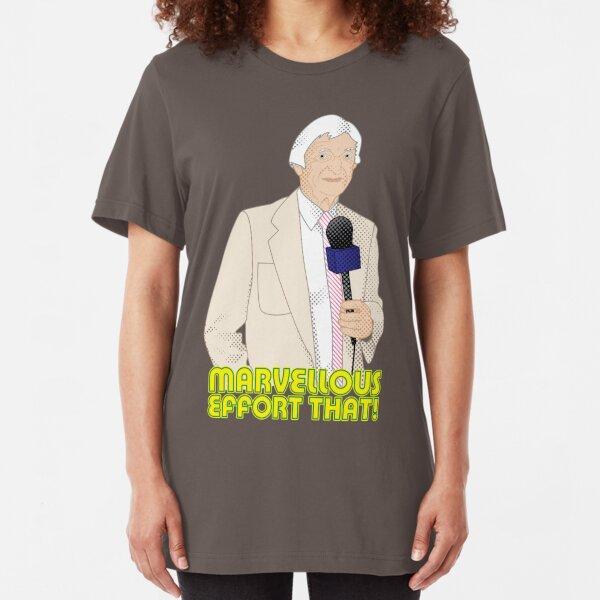 Marvellous Effort That! Slim Fit T-Shirt
