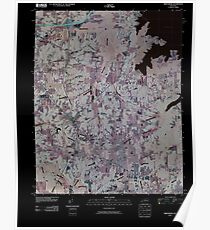 USGS TOPO Map Kentucky KY Briensburg 20100409 TM Inverted Poster