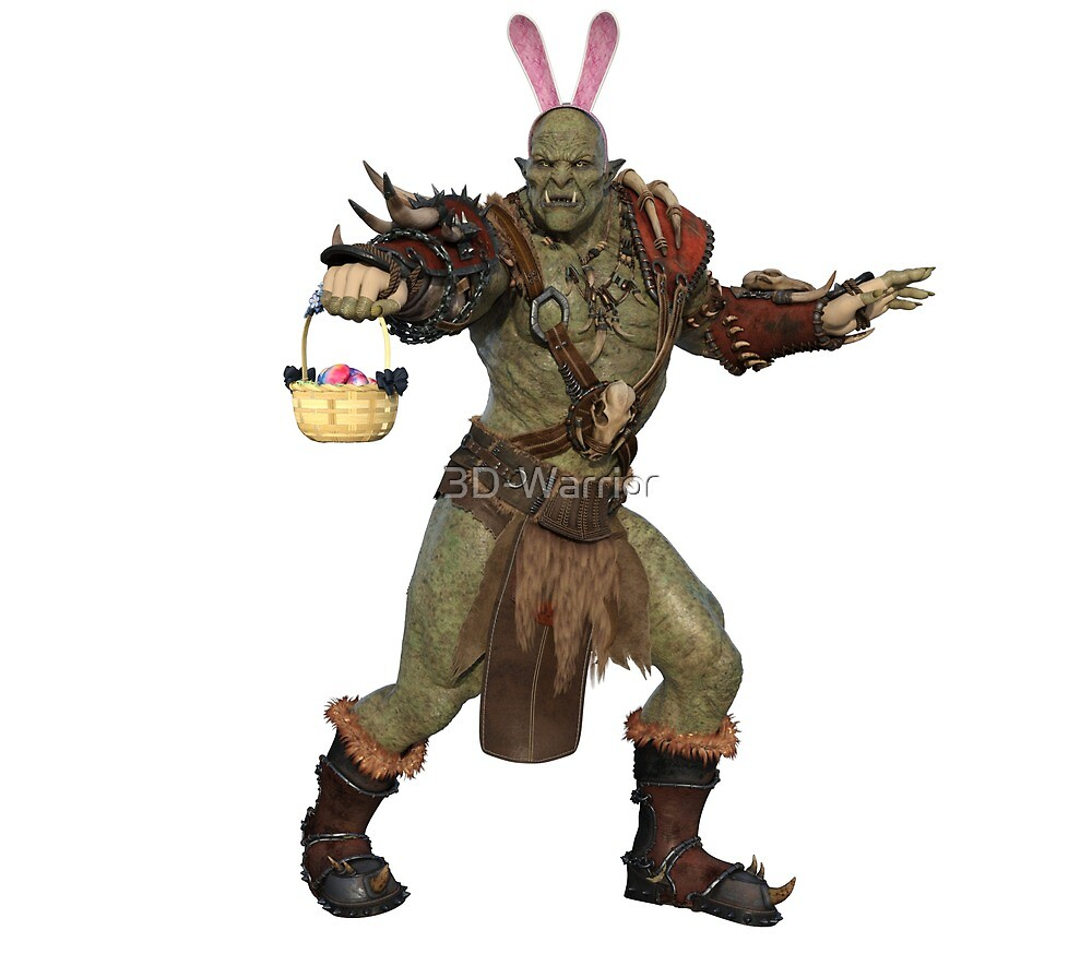 Easter - Orc by 3D-Warrior