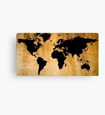 Lienzo Mapa del mundo
