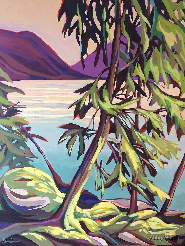 Slocan Lakeshore by Abby Wilson