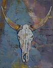 Steer Skull by Michael Creese