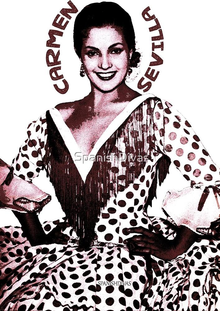 Carmen Sevilla röd by SpanishDivas