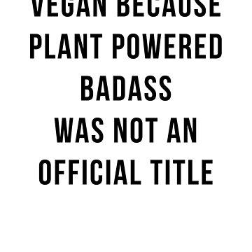 Vegan by coldsmoked
