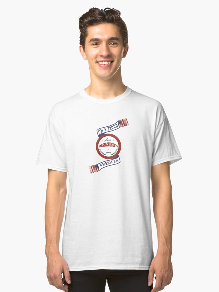 Massachusetts Classic T-Shirt Front