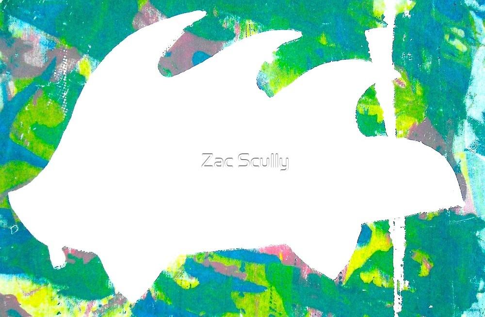 Psychedelic Porky Pine #1 by Zac Scully