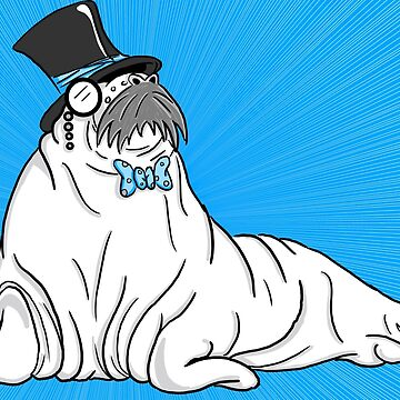 Radiant Walrus by justin-baker