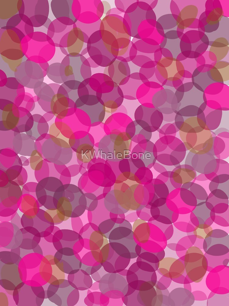 Fun pink pattern by KWhaleBone