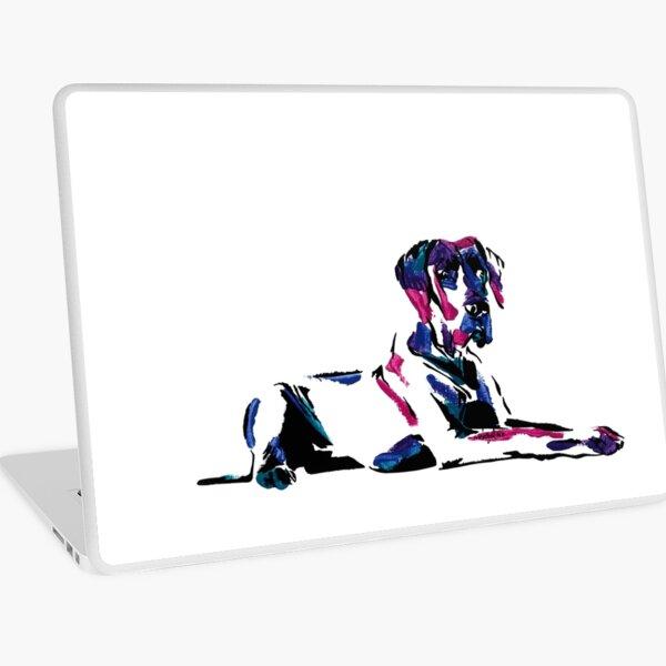 Shirley the Great Dane *dark Laptop Skin