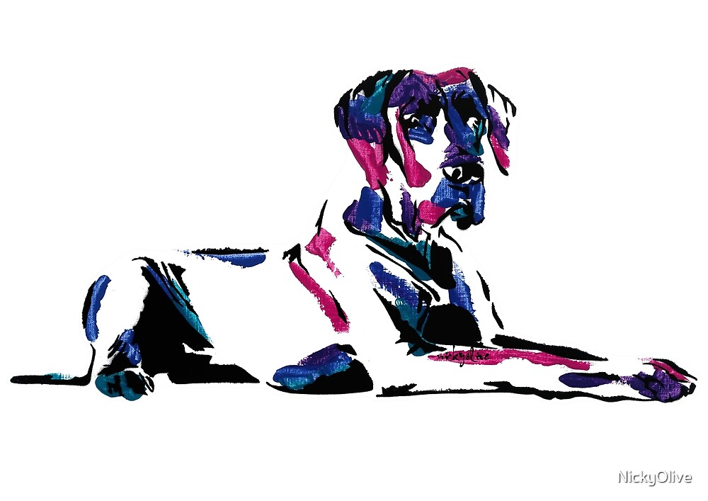 Shirley the Great Dane by NickyOlive