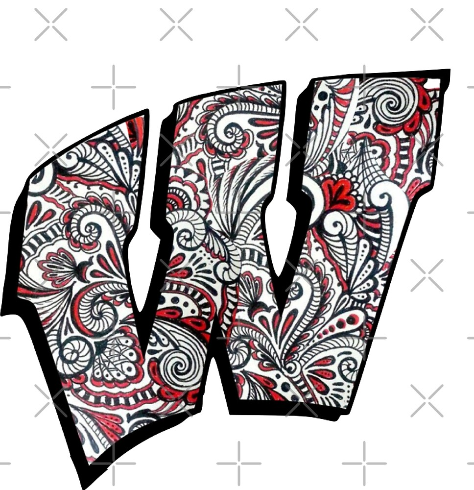 University of Wisconsin Doodle Logo  by sflissler