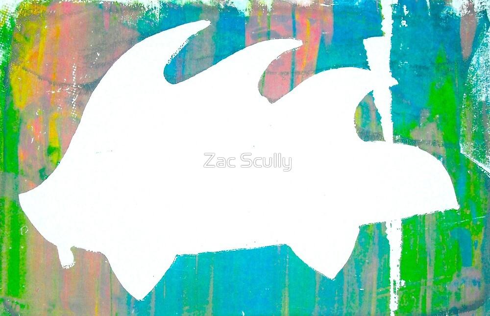 Psychedelic Porky Pine #2 by Zac Scully
