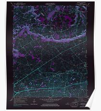 USGS TOPO Map Kentucky KY Bristow 803363 1965 24000 Inverted Poster