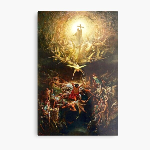The Triumph Of Christianity Metal Print