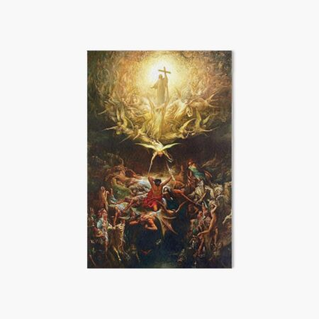 The Triumph Of Christianity Art Board Print