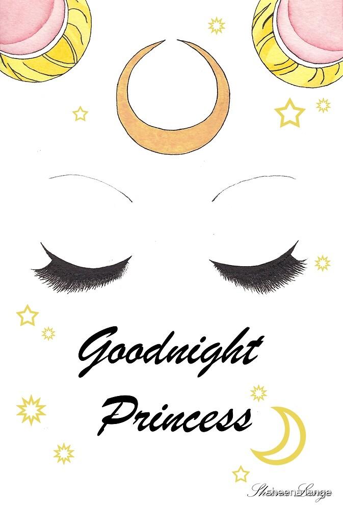 Good Night Princess by TeaFoxArt