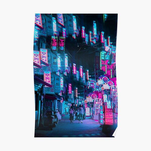 Light Prism Dreams, Séoul Poster