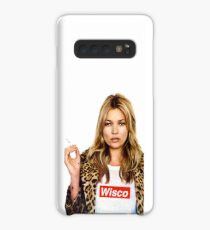University of Wisconsin- Kate Moss Supreme tee Case/Skin for Samsung Galaxy