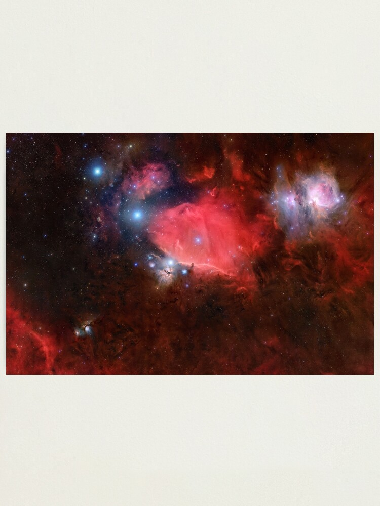 Alternate view of Orion Mosaic 32 Panel Photographic Print