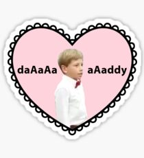 Walmart Yodel Kid Heart Sticker