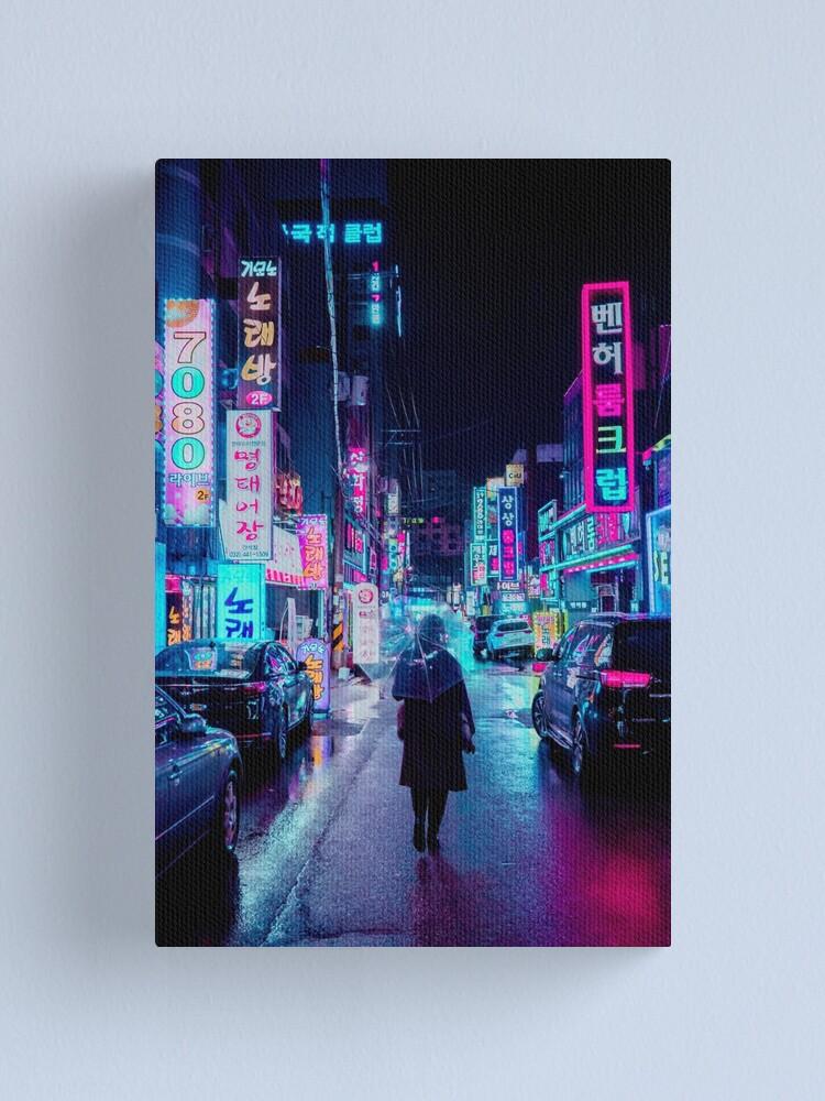 Alternate view of Incheon Rain 2 Canvas Print