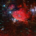 Orion Mosaic 32 Panel Annotated by Chuck Manges