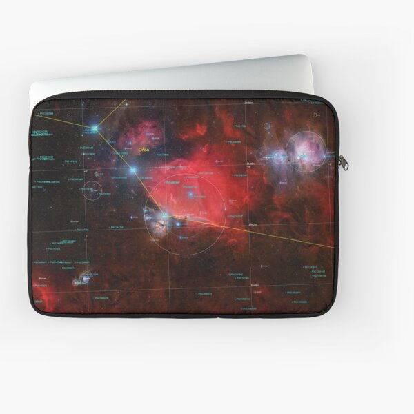 Orion Mosaic 32 Panel Annotated Laptop Sleeve