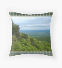 Powell Valley from Pinnacle Overlook Throw Pillow