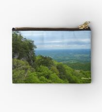 Powell Valley from Pinnacle Overlook Studio Pouch