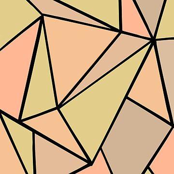 Muted geometry  by KWhaleBone