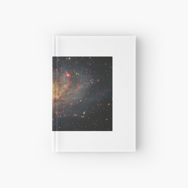 Messier#33 Triangulum Galaxy Hardcover Journal