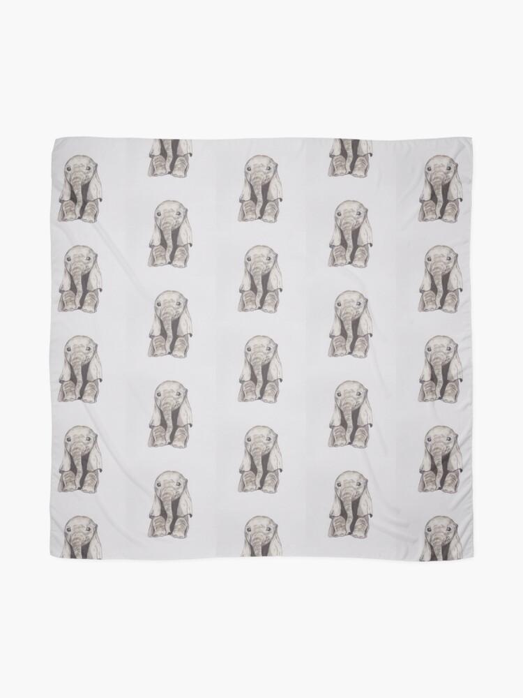 Vista alternativa de Pañuelo Bebé elefante