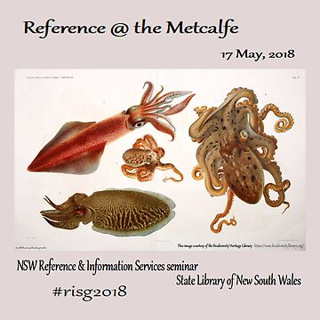 risg2018 - Reference at the Metcalfe  by nswRISG