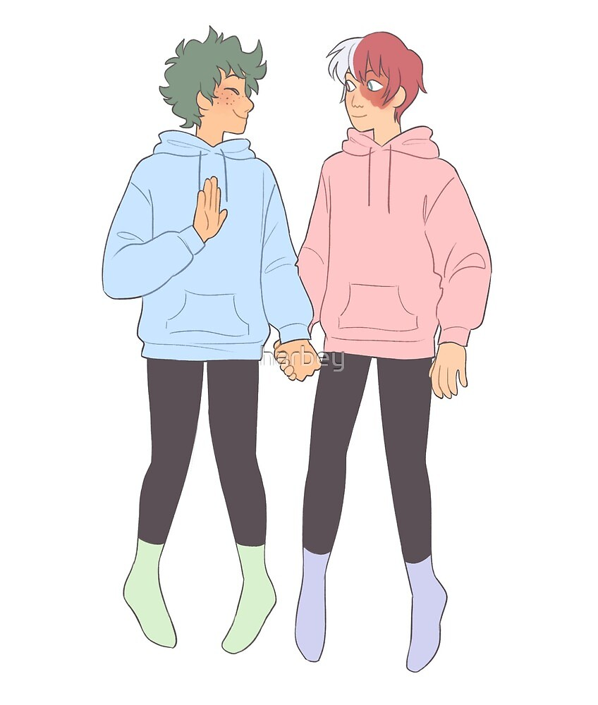hoodies tododeku  by harbey