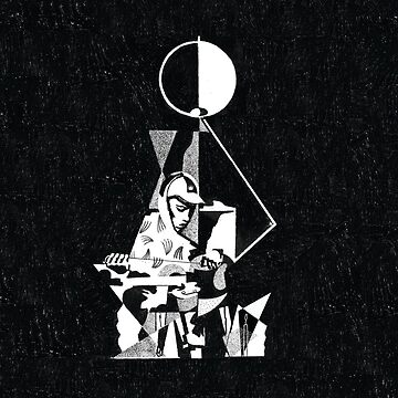 King Krule - 6 Feet Beneath the Moon (Large) by todd--harris