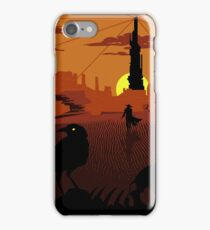 ...and the Gunslinger followed iPhone Case/Skin