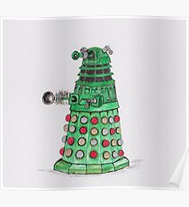 Christmas Dalek Poster