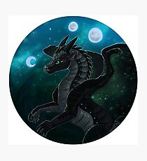 Wings of Fire - Moonwatcher Photographic Print