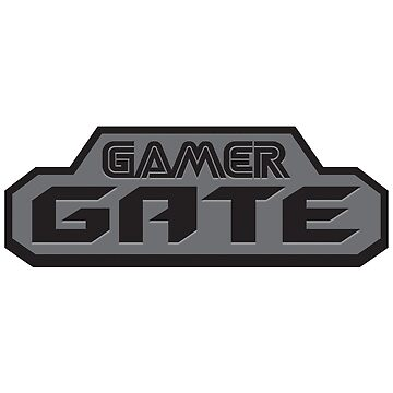 #GamerGate Video Game Logo by unluckydevil