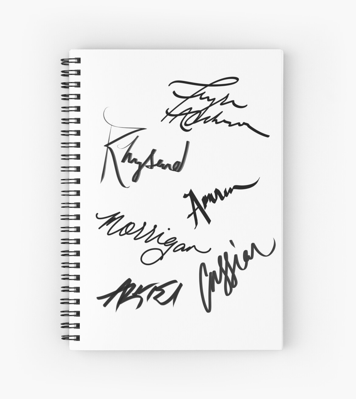 A Court of Thorns and Roses | Character Signatures by x .