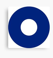Roundel of the Royal Australian Air Force, 1943-1946 Canvas Print